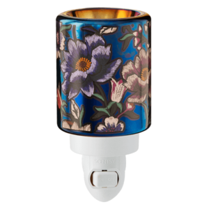 scentsy midnight floral mini warmer