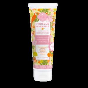 hibiscus pineapple cream