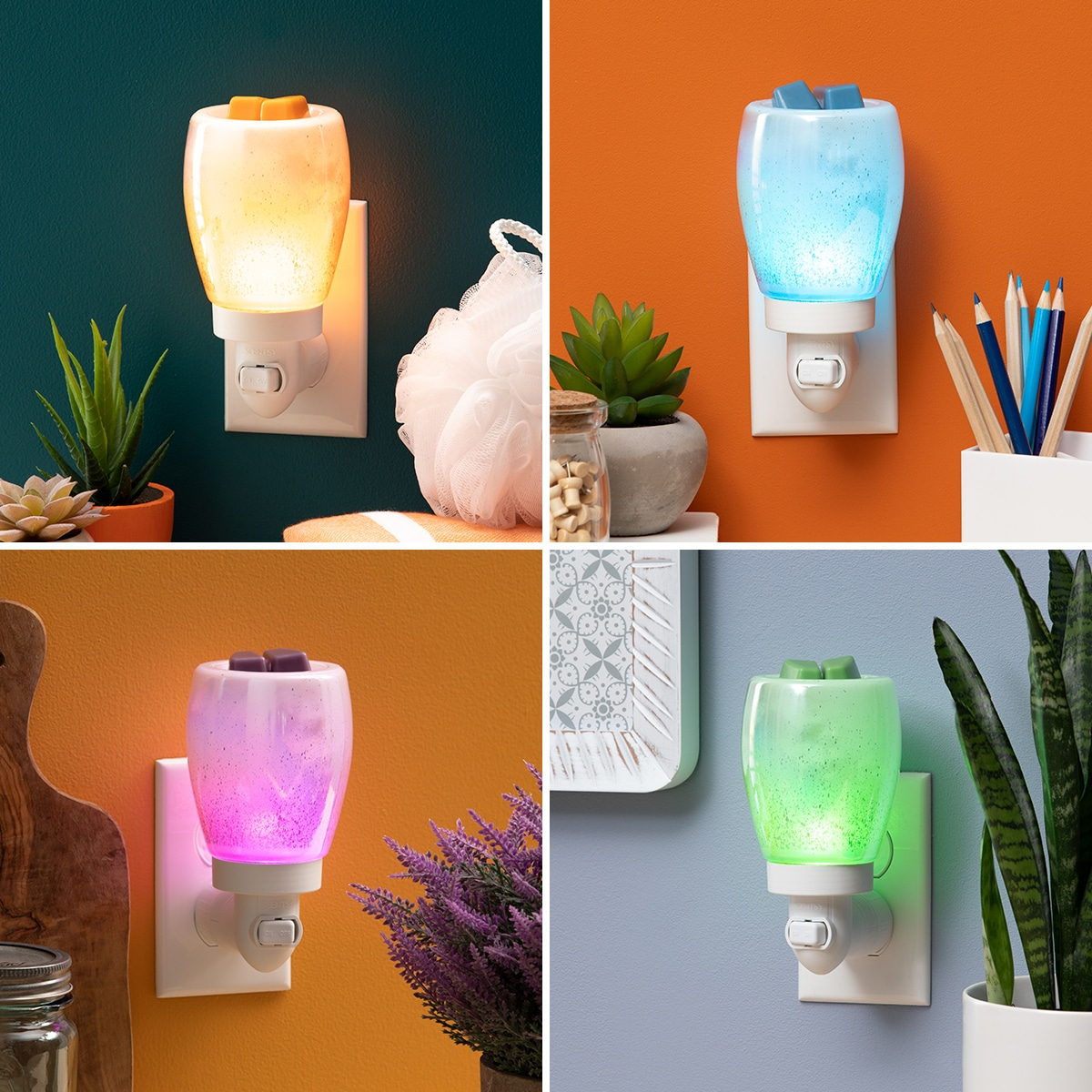 scentsy light bulbs colored