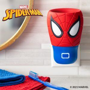 scentsy styled spiderman fan