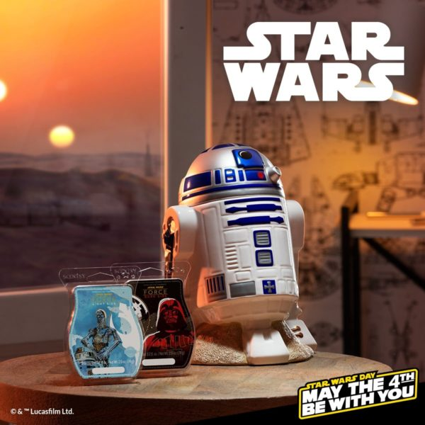 R2d2 scentsy candle warmer