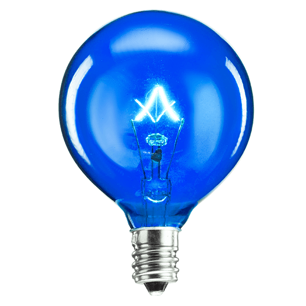 blue scentsy bulb