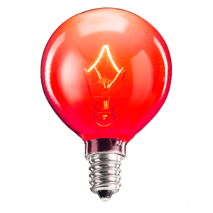 red scentsy bulb