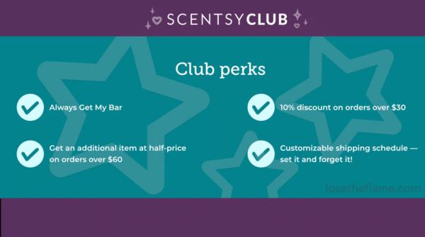 scentsy club order