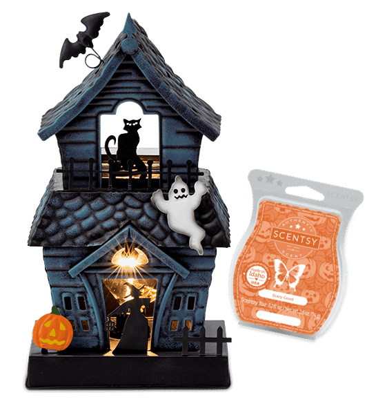 scentsy haunted house september warmer of the month