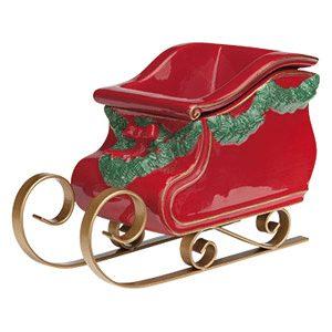 scentsy sleigh warmer