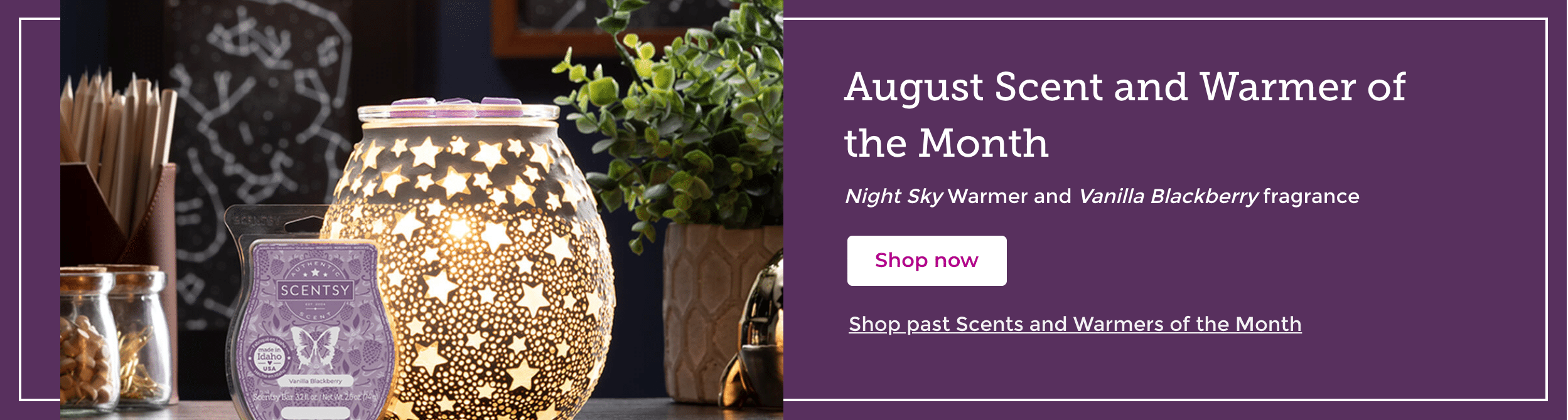 august scent of the month scentsy