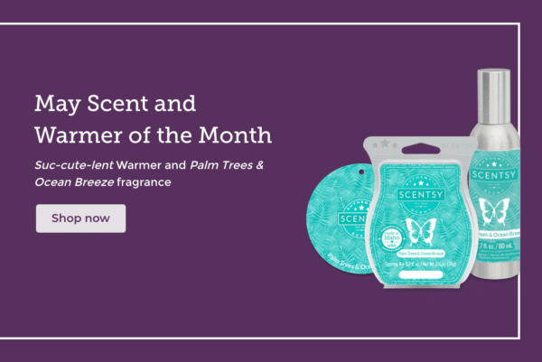 scent of the month scentsy