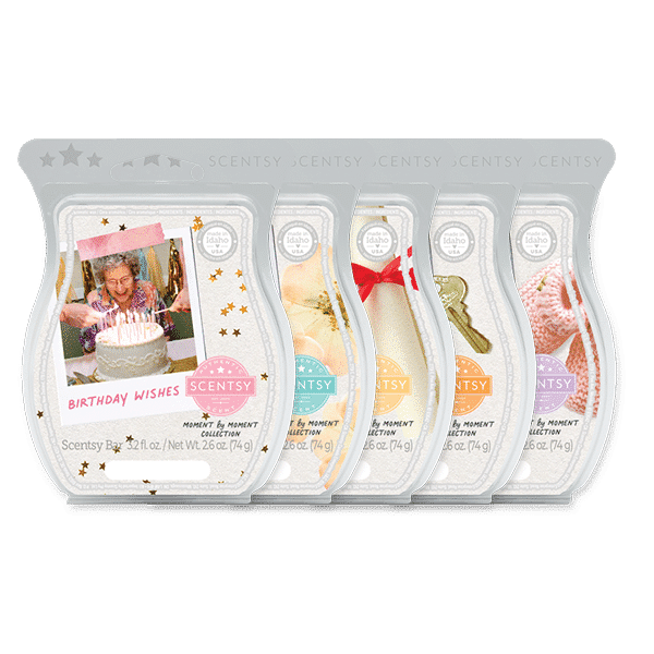 Scentsy moment by moment bars