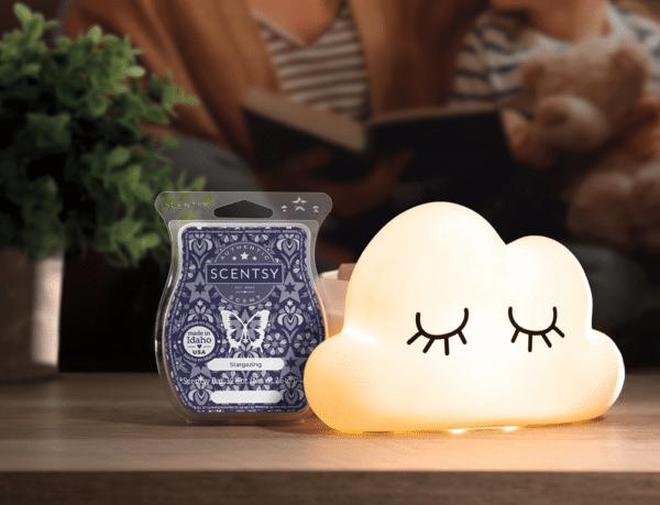 cloud candle warmer