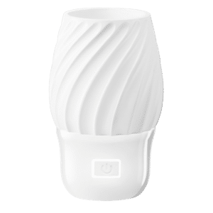 Swivel wall fan with light