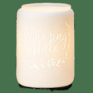 amazing grace scentsy warmer on