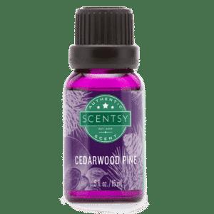 cedarwood pine natural oils scentsy