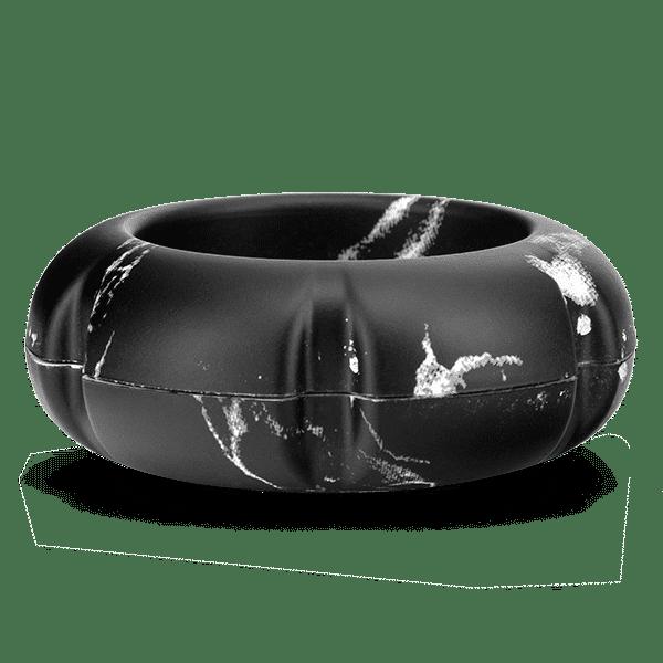 mini usb black marble fan