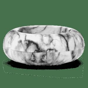 white marble mini fan