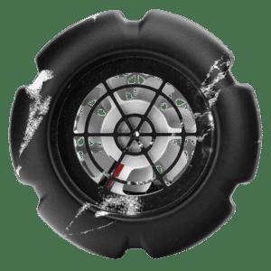 mini fan usb marble black
