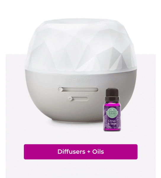 scentsy diffusers and oils