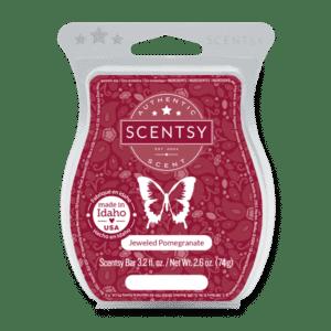 scentsy jeweled pomegranate bar