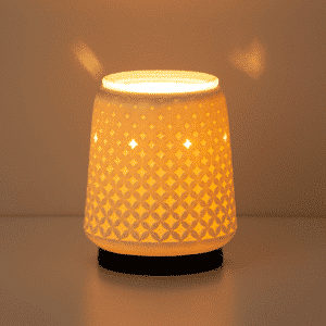 scentsy warmer light from within in dark