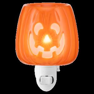jack o lantern plugin warmer on