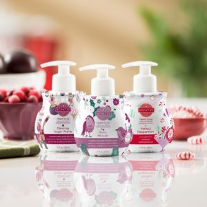 scentsy holiday hand soap pack