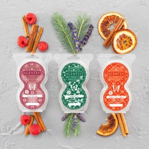 scentsy holiday pods collection