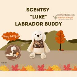 scentsy luke the lab buddy